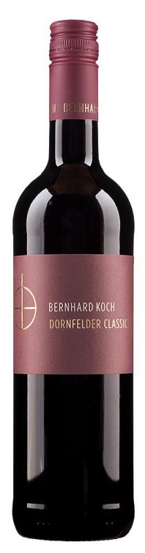 Weingut Koch - 2018 Dornfelder Classic sausas 0,75 L