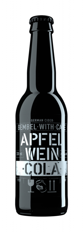 Sidras BEMBEL-WITH-CARE Apfelwein Cola, 330ml