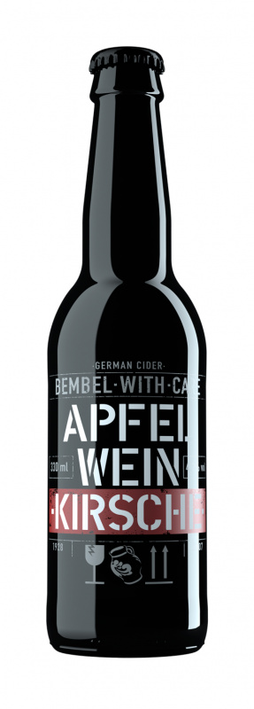 Sidras BEMBEL-WITH-CARE Apfelwein Kirsch, 0,33l