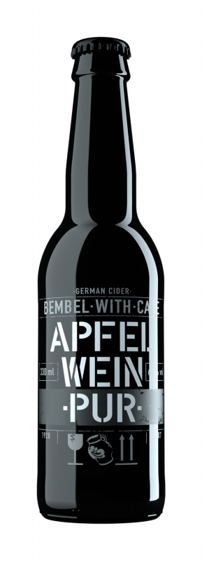 Cider BEMBEL-WITH-CARE Apfelwein Pur, 0,33l