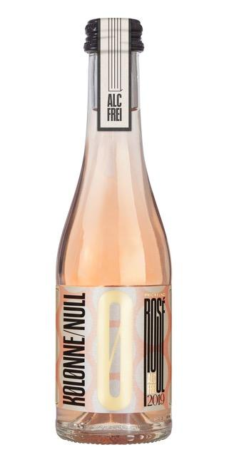 Nealkoholinis putojantis vynas KOLONNE NULL, rosé, 0,375l