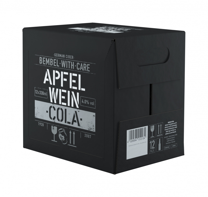 Sidras BEMBEL-WITH-CARE Apfelwein Cola, 12x0,33